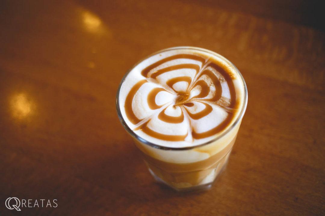コーヒービーンエステートのキャラメルマキアート