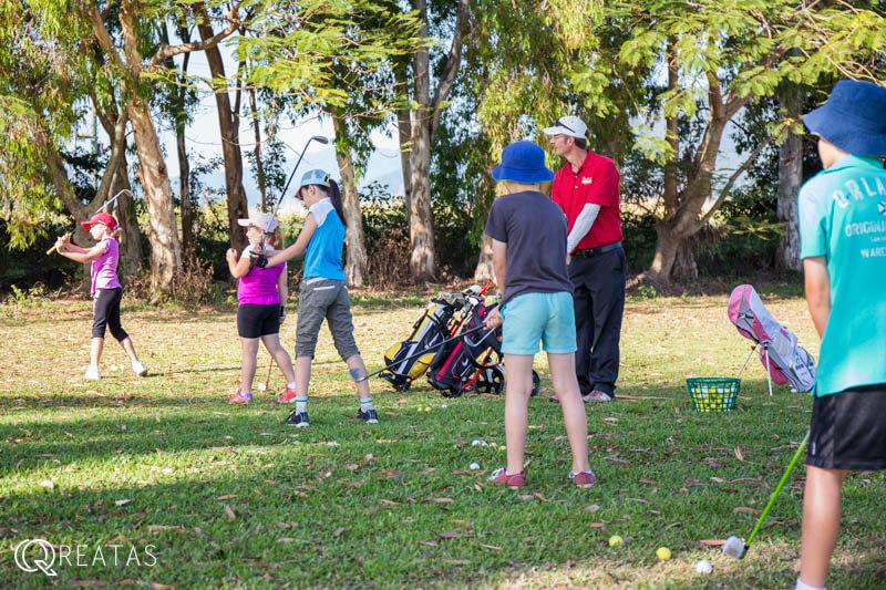 ローカルに混ざってゴルフレッスンができるオーストラリア留学
