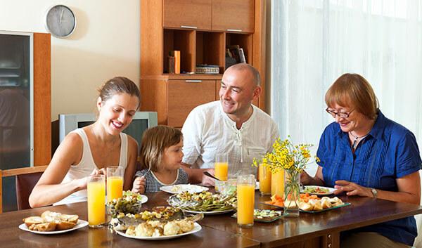 オーストラリアの家庭に滞在する親子留学
