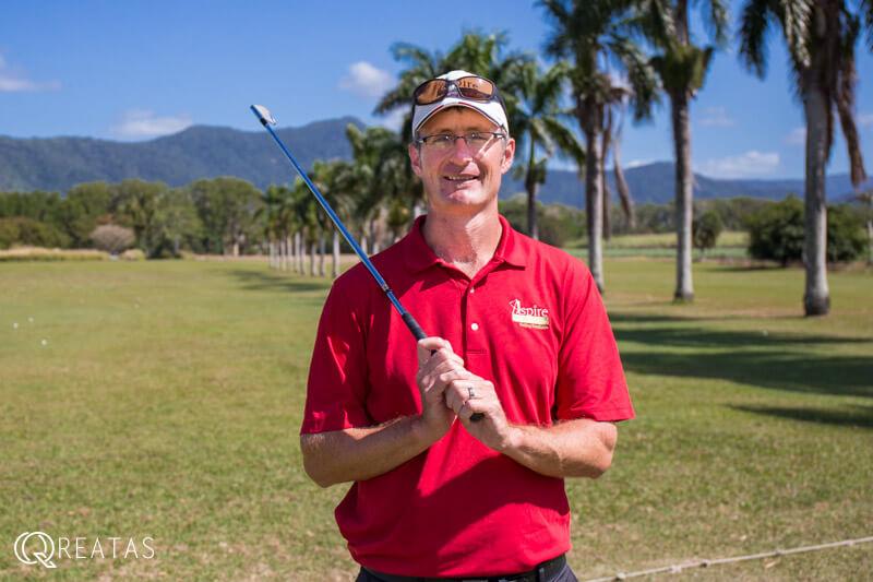 クリエイタスのゴルフ留学のコーチ