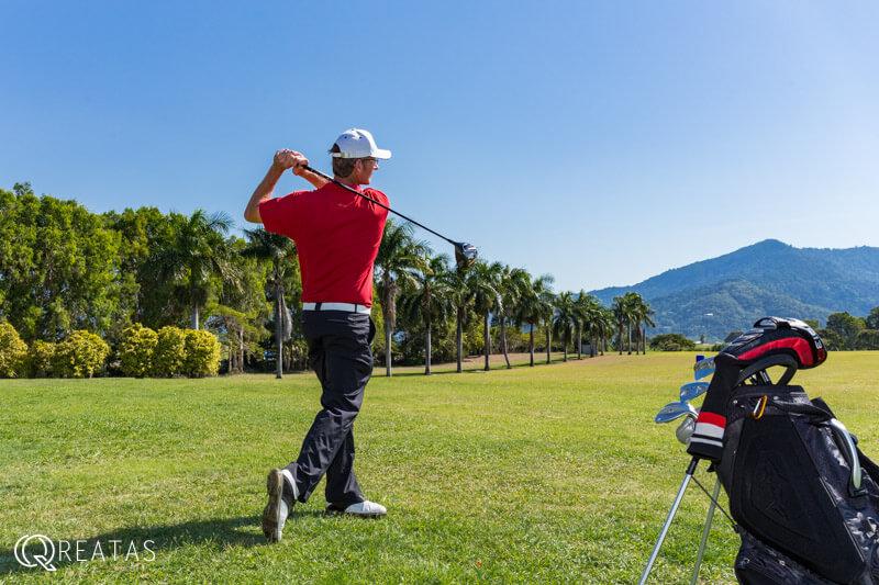 クリエイタスのゴルフ留学は大自然に囲まれながら